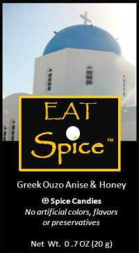 eat spice anise ouzo greek
