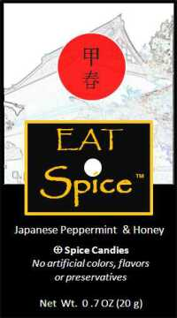 eat spice peppermint japanese